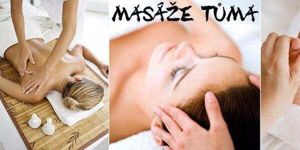 149 Kč za hodinovou masáž dle výběru. Medová, čínská energetická a další!