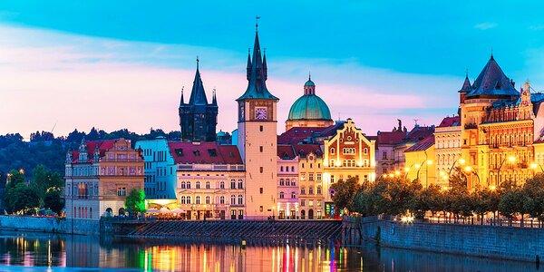 Dovolená v centru Prahy se snídaní pro dva