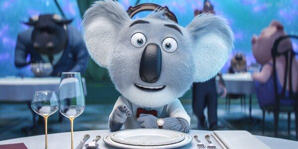 Zpívej: 2 lístky na zábavný animák o zvířátkách