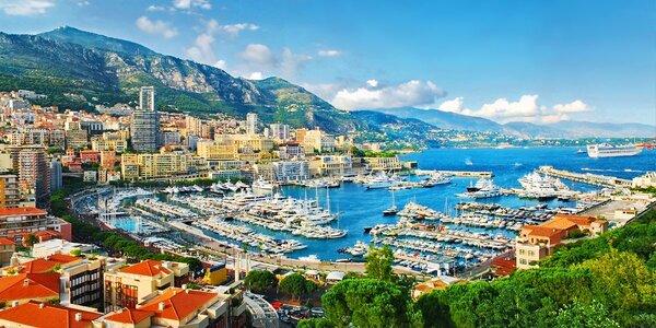 Monako, Monte Carlo, Nice: 1x ubytování, snídaně