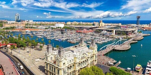 Vzhůru do Barcelony: Doprava, hotel i polopenze