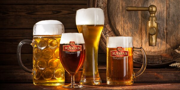 Prohlídka pivovaru Radas s ochutnávkou piva