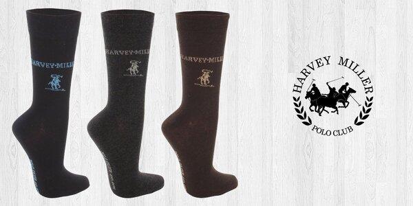 Elegantní ponožky značky Harvey Miller