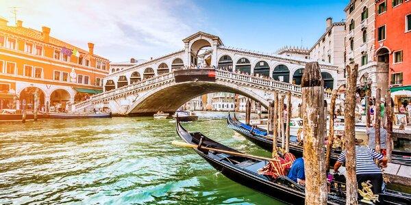 Zájezd do Benátek a Verony s 1 nocí v hotelu