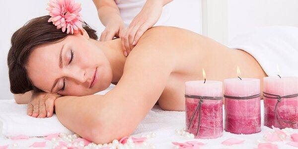 Valentýnské hýčkání - Relaxační masáže