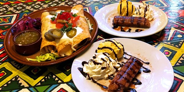Mexická hostina pro dva: Enchiladas i dezert