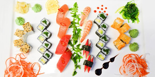 Chopte se hůlek: Sety plné čerstvého sushi