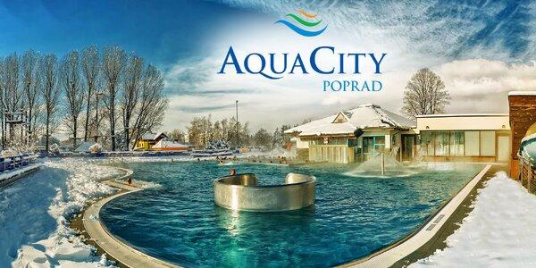 Zábava v aquaparku a wellness v AquaCity Poprad