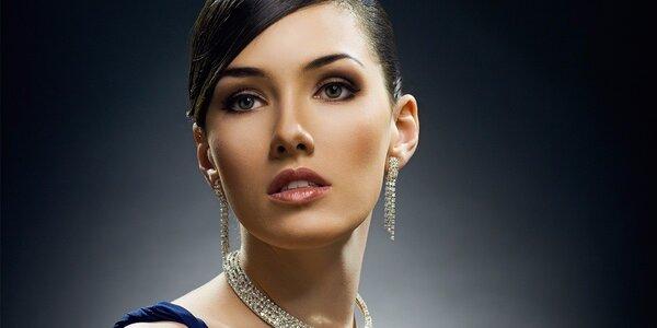Přirozený permanentní make-up obočí
