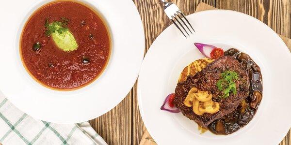 Romantika na talíři: moderní 4chodové menu