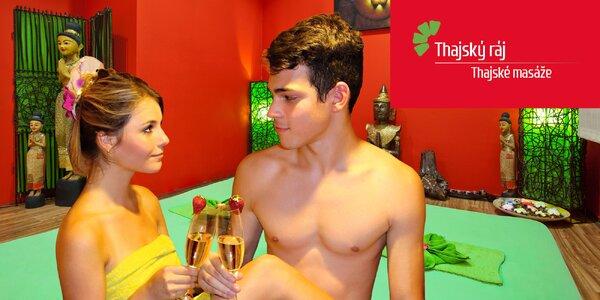 Partnerská masáž s občerstvením a Garra Rufa