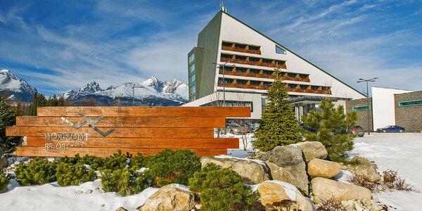 Romance ve Vysokých Tatrách: Wellness i lyžování