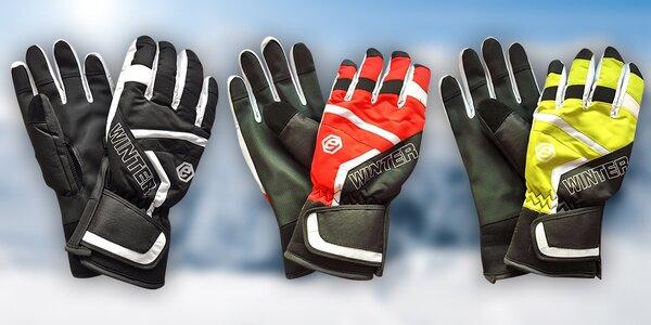 Dámské i pánské lyžařské rukavice ECHTSKI