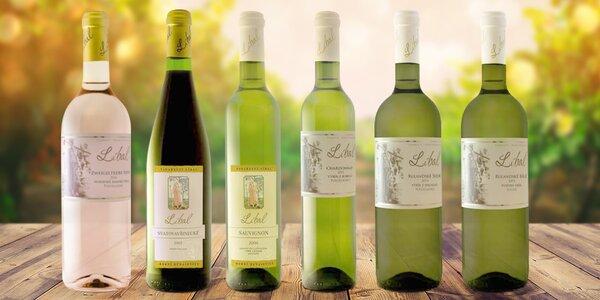 6 znamenitých vín z vinařství Líbal