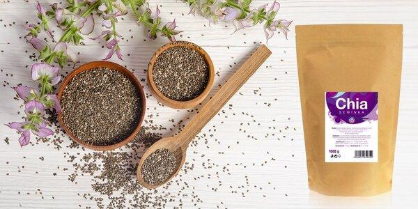 Kilo chia semínek pro zažívání i bystrý mozek