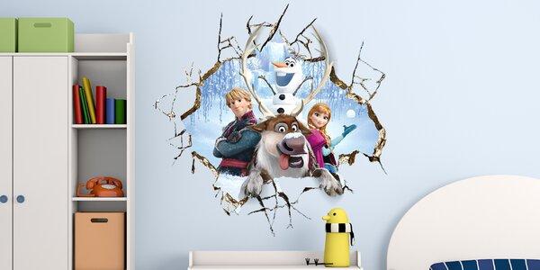 Ledové království a další: výběr samolepek na zeď