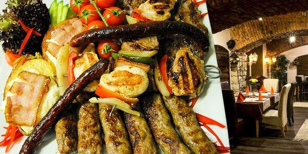 Bohatý kalemegdanský mix grill pro dva