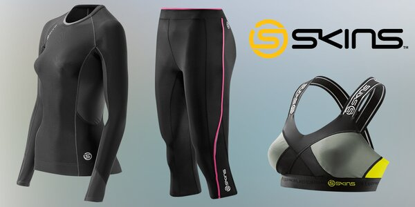 Funkční kompresní prádlo Skins pro sportovce