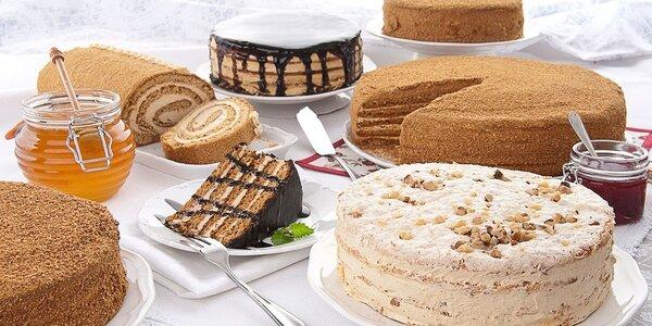 Ručně vyráběné medové dorty Lavtor