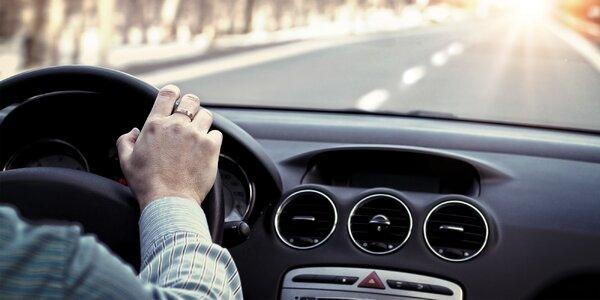 Důkladné vydezinfikování vozu ozonem