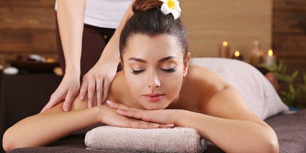 Báječná 60minutová masáž dle výběru ze 3 variant