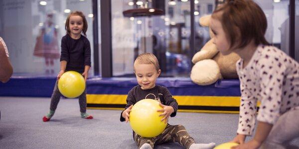 Zábavné cvičení pro děti od 10 měsíců do 6 let