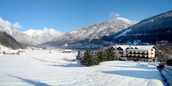 Lyžařský ráj Val di Sole s polopenzí a skipasem