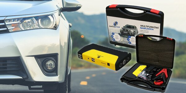 Powerbanka 16 800 mAh, co nastartuje i automobil