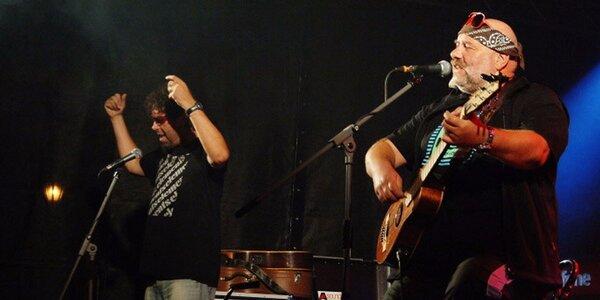 Vstupenka na koncert skupiny Fleret