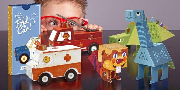 Dětská 3D skládačka: zábava i rozvoj zručnosti