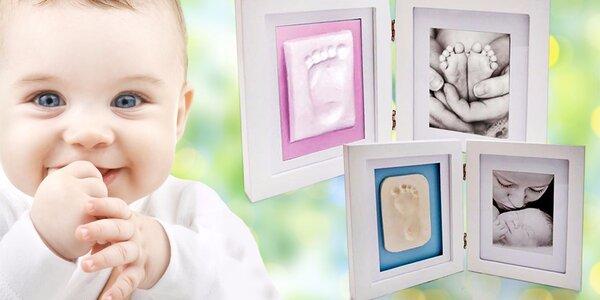 Otiskovací sady: Pořiďte si památku na miminko