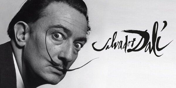 Dvě vstupenky na výstavu Salvadora Dalí
