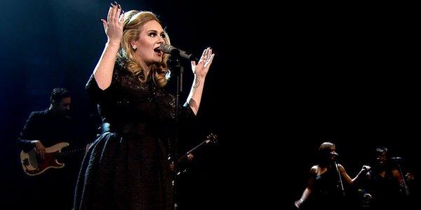 Na Adele do Lucerny: 2 lístky na záznam koncertu