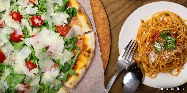 Italské speciality: pizza, pasta nebo rizoto