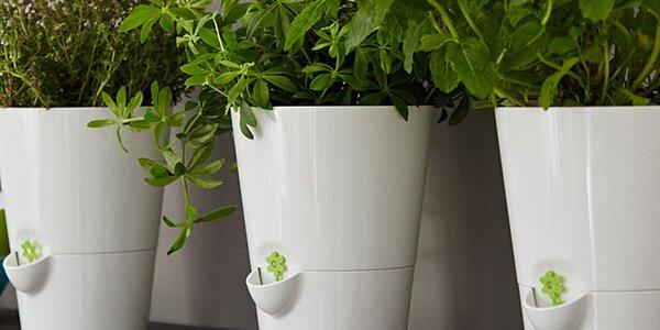 Bylinkáč se samozavlažovacím systémem pro čerstvost bylinek