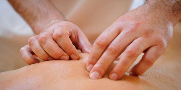 Relaxační masáž od šikovného nevidomého maséra