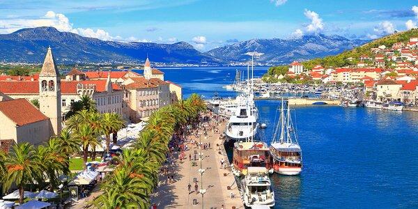 Honosný pobyt u chorvatské pláže pro 2 pohodáře