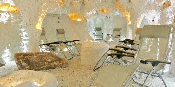 Relax ve zdravém klimatu solné jeskyně Mineral