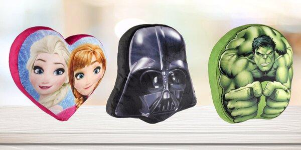 Filmoví hrdinové ve vašem obýváku: 3D polštáře