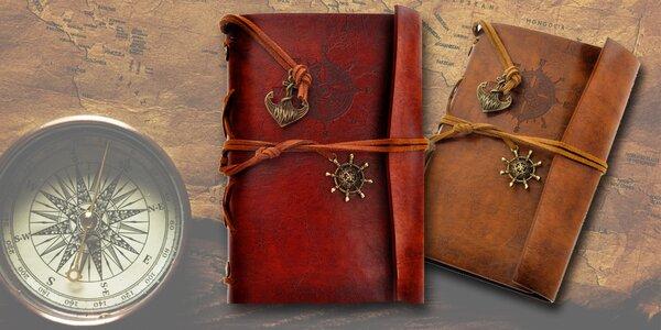 Krásný zápisník s kroužkovou vazbou