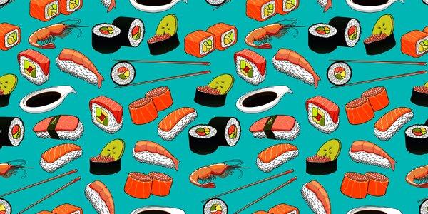 Sushi a vše pro domácí rolování