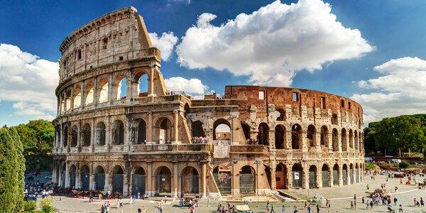 Okruh Itálií: Řím, Pompeje a další vč. dopravy