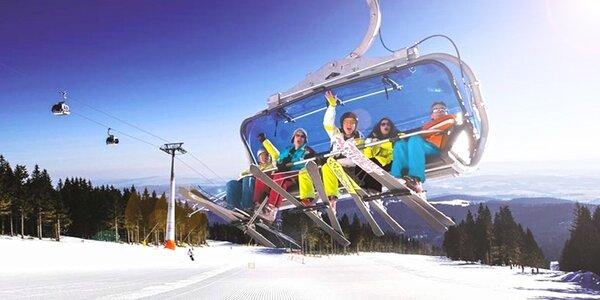 Parádní lyžovačka v Janských Lázních s polopenzí