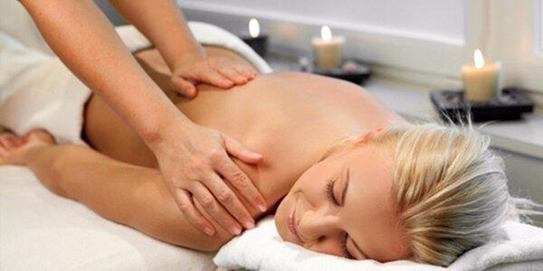 Dopřejte si 60minutový relax - Masáž Karité