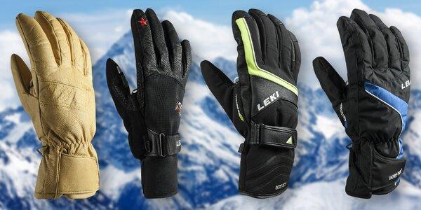 Špičkové lyžařské rukavice značky Leki