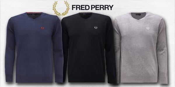 Pánské svetry značky Fred Perry
