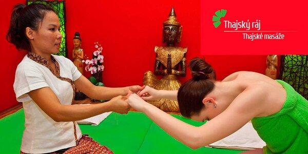 30minutová thajská masáž a Garra Rufa v Mostecké
