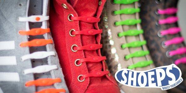 SHOEPS - oblíbené tkaničky, které se nešněrují