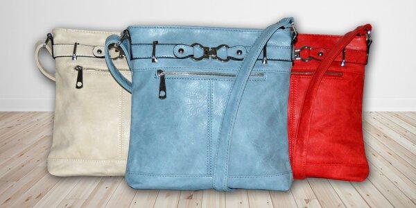 Dámská crossbody kabelka v jarních barvách