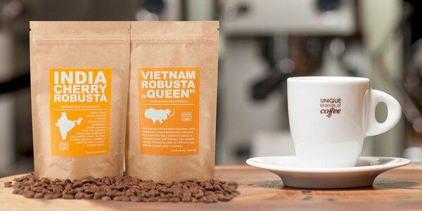 Výběr kvalitní čerstvě pražené kávy